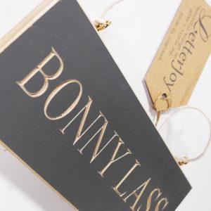 Bonny Lass Northumbrian Plaque
