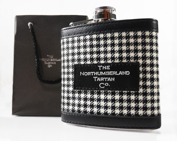 Northumberland Tartan Hip Flask