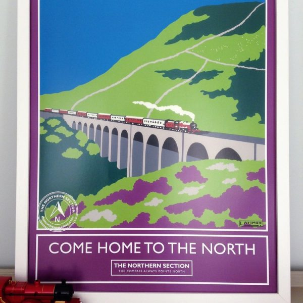 Come home to the north poster