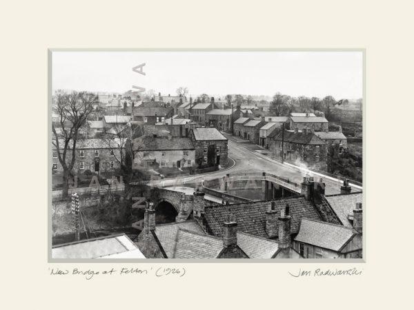 Felton Bridge Vintage Print