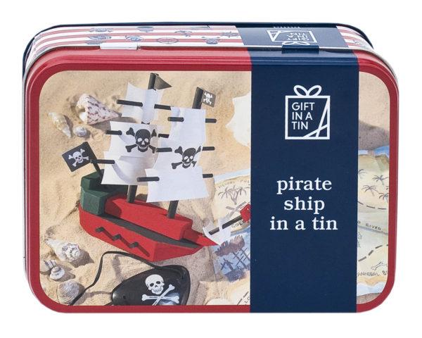 Pirate Ship in a Tin