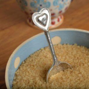 Heart Shaped Handled Spoon
