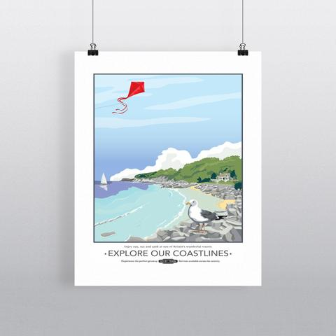 Explore our Coastlines Print