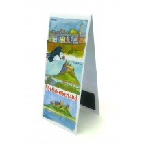Magnetic Northumberland Bookmark