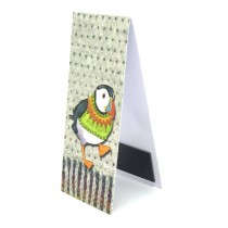 Woolly Puffins Magnetic Bookmark