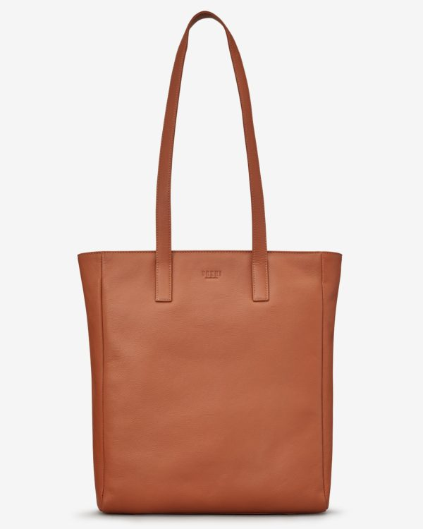Marlowe Leather Shopper