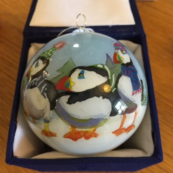 Puffin Christmas Bauble