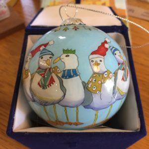 Seagull Christmas Bauble