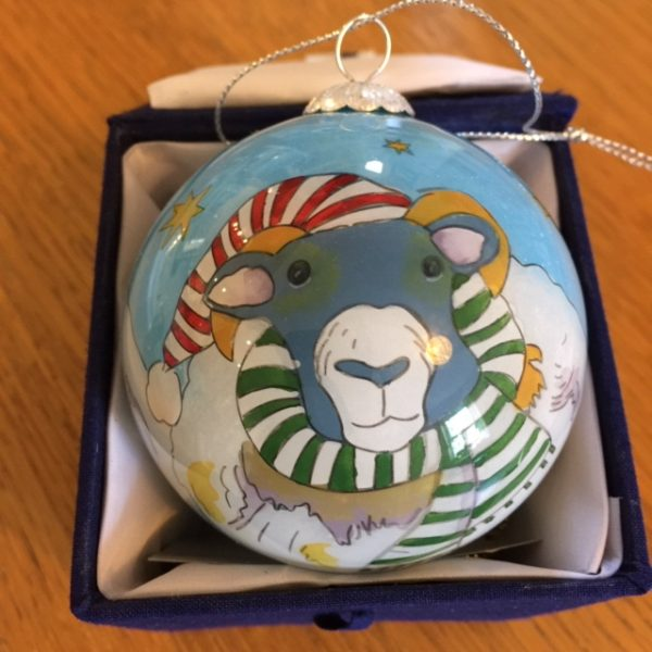 Woolly Sheep Bauble