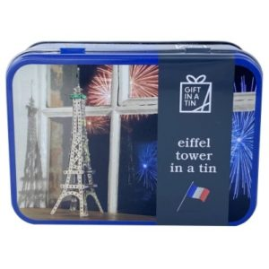 Eiffel Tower Gift in a Tin