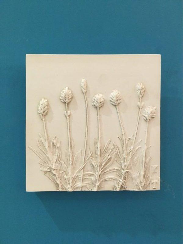 Lavender Plaster Tile