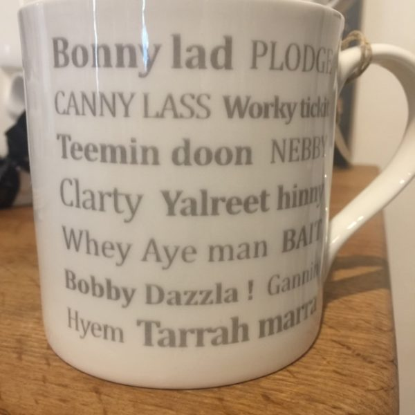 North Eastern Words Mug