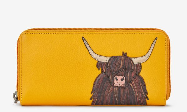 highland cow purse
