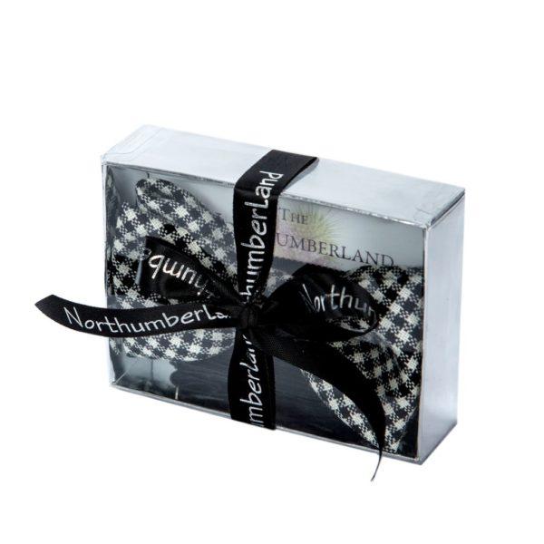 northumberland tartan bow tie