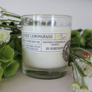 Lively Lemongrass Soy Candle