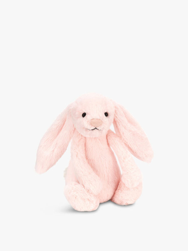 Pink Bunny Soft Rattle