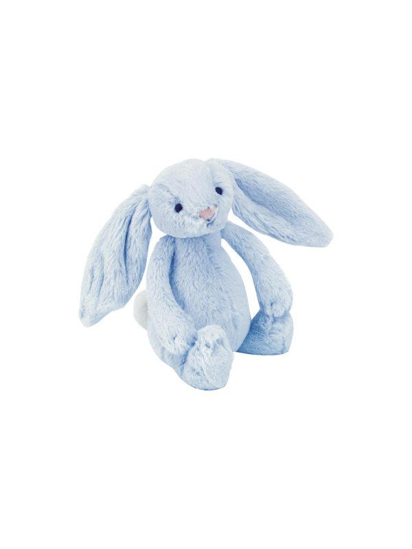 Blue Bunny Soft Rattle