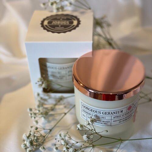 Gorgeous Geranium Soy Candle