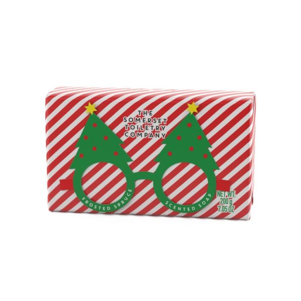Frosted Spruce Christmas Soap