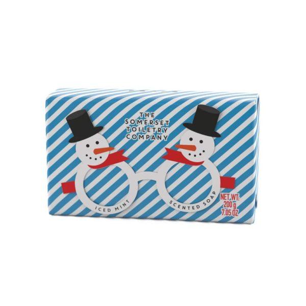 Iced Mint Christmas Soap