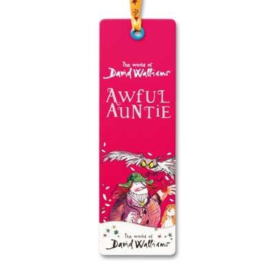 Childrens Bookmark Awful Auntie