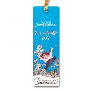 Billionaire Boy Childrens Bookmark