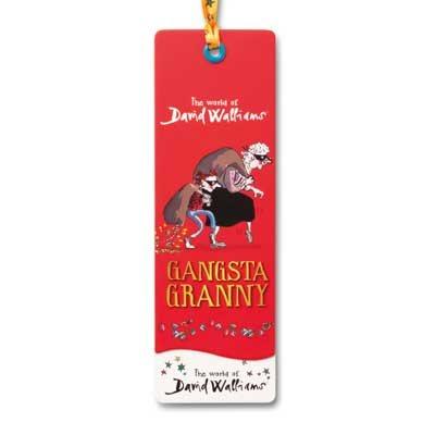 Childrens Bookmark Gangsta Granny