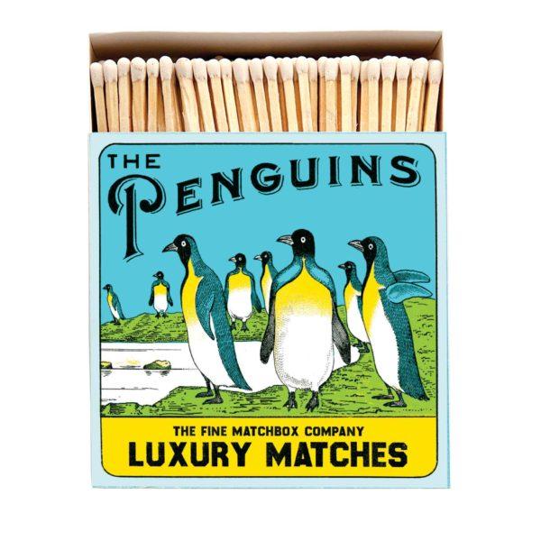 Penguins Archivist Box of Matches