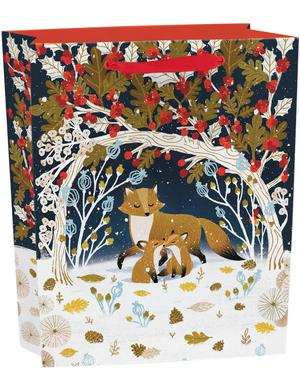 Frosty Forest Gift Bag