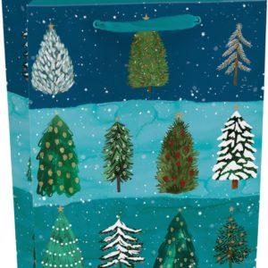 Christmas Conifer Gift Bag