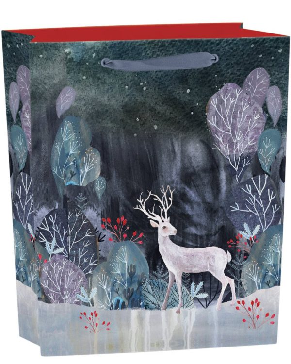 Silver Stag Gift Bag