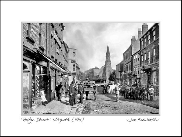 Print Bridge Street Morpeth