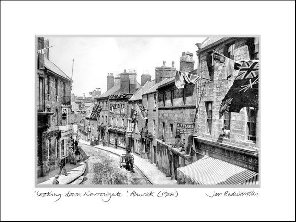 Photographic Print Narrowgate, Alnwick