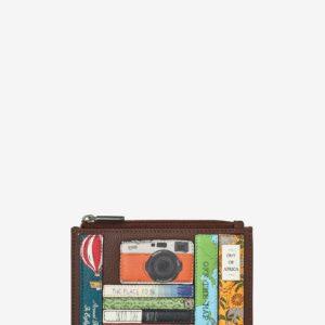 Travel Bookworm Zipped Purse