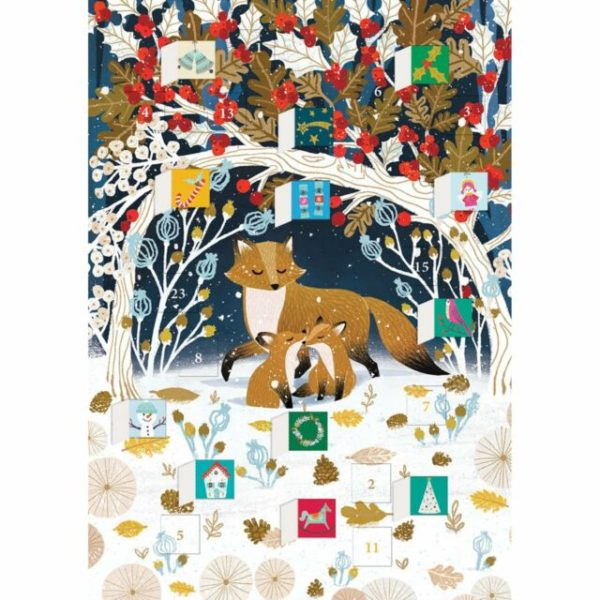 Paw Prints Advent Calendar
