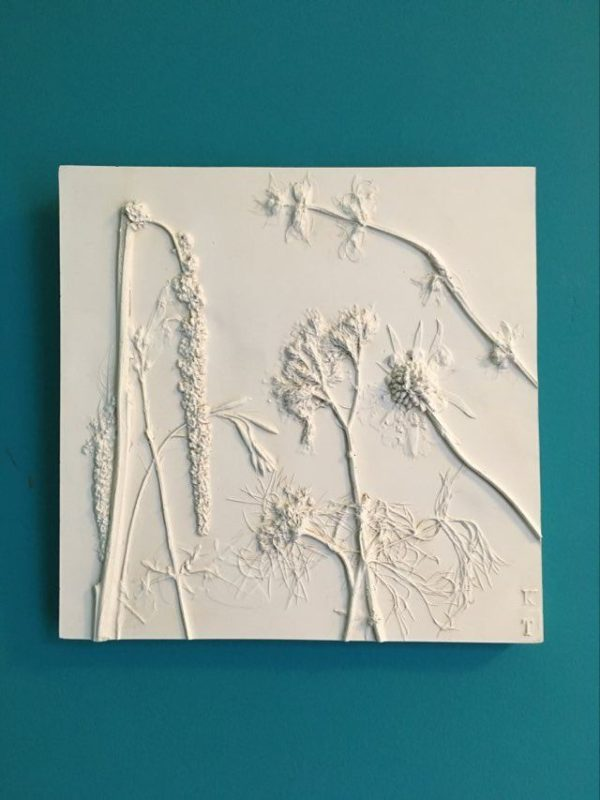 Floral Plaster Tile