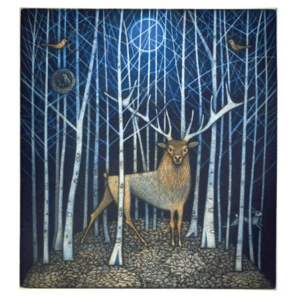 Spirit of the Wood Greeting Card