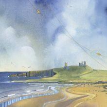 Dunstanburgh Castle by Kate Lycett