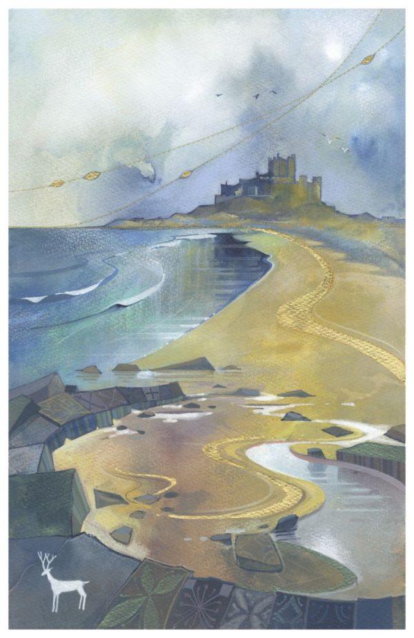 Bamburgh Castle by Kate Lycett