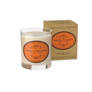 Luxury neroli and tangerine candle