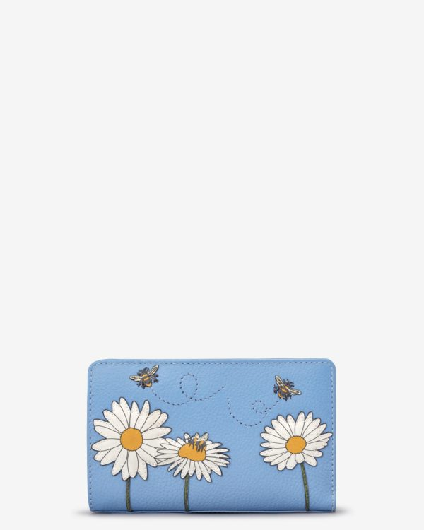 Bee Happy leather purse