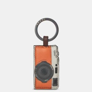 Vintage camera keyring
