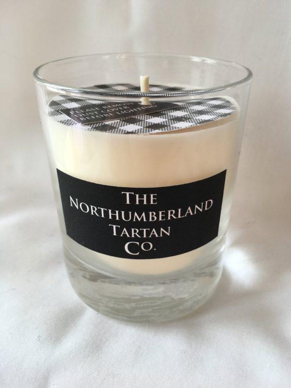 Northumberland Tartan Candle